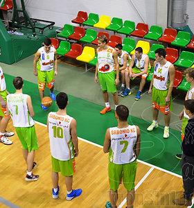Dalia Grybausakitė lankėsi Sabonio krepšinio centre