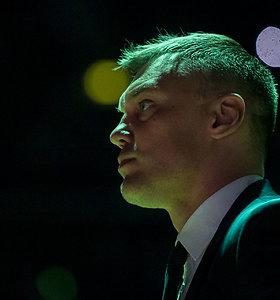 Šarūnas Jasikevičius džiaugėsi, kad sirgaliai nepabūgo ateiti į areną