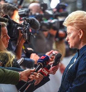 """Filmas """"Valstybės paslaptis"""": šuoliais per dešimt prezidentės D.Grybauskaitės metų"""