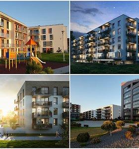 Nauji Aruodas.lt projektai: vilniečiai nori gamtos pro langus, Klaipėdoje populiarėja butai poilsiui