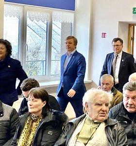 Ramūnas Karbauskis susitiko su gyventojais Žasliuose