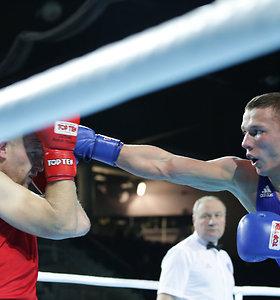 Lietuvos boksininkai įveikė ukrainiečius