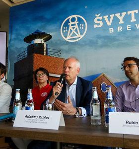 """Naujos daryklos """"Švyturys Brewery"""" vadovas R.Viršilas: situacija nėra labai palanki dėl valdžios"""