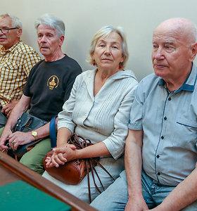 Teismo posėdis dėl Lukiškių aikštės memorialo