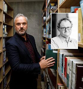 """L.Donskio kabineto atidarymo metu aktorius G.Savickas sakė: """"Jis – mūsų minties Sabonis"""""""