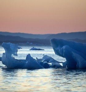 Grenlandijos ledynai susiduria su mirties nuosprendžiu