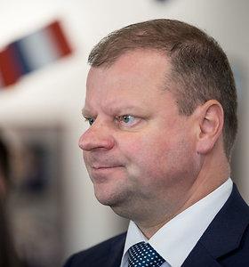 S.Skvernelis atmeta D.Grybauskaitės kritiką dėl Astravo AE bendro stebėjimo sistemos