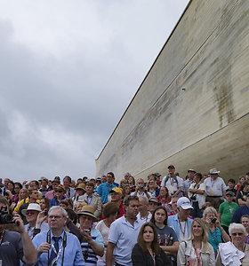 Į atkurtą Nojaus arką Kentukyje plūsta tūkstančiai smalsuolių