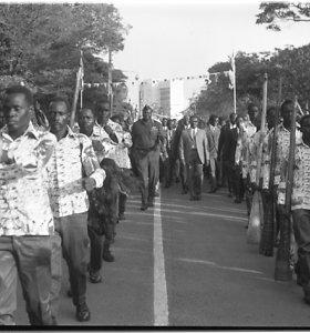 Gyvenimas diktatoriaus Idi Amino valdomoje Ugandoje