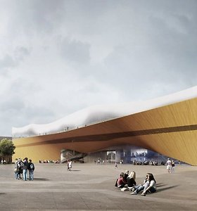 XXI amžiaus biblioteka: Helsinkyje kyla naujo tipo kultūros objektas