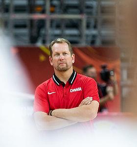 Kanados rinktinės trenerį prajuokino klausimas apie Joną Valančiūną