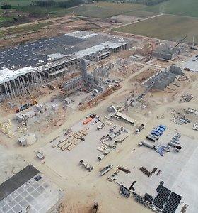 Darbą pradėjo naujoji VMG gamykla Akmenėje