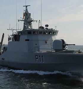 Baltijos jūroje išbandomos ryšio technologijos, skirtos Europos jūriniam saugumui