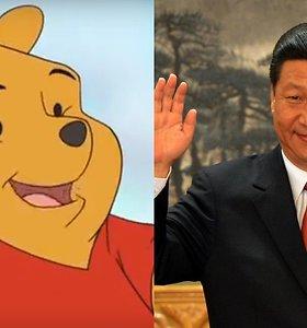 Kinijoje uždraustas animacinis filmas, kai Kinijos prezidentas palygintas su Mike Pūkuotuku