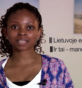 """Nigerietė Lietuvoje: dirba tarptautinėje įmonėje ir savanoriauja """"Carite"""""""