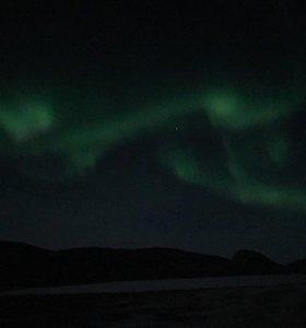 Lauros vyro Grenlandijoje užfiksuota Šiaurės pašvaistė