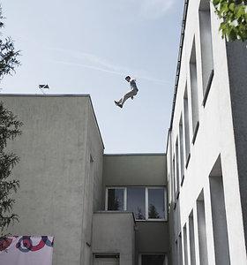 """Šiuolaikinio cirko festivalio """"Cirkuliacija"""" Kaune akimirkos"""