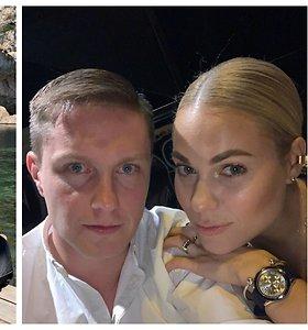 """Nijolė Pareigytė su vyru Rimvydu atšventė 7-ąsias vestuvių metines: """"Šį princą man išbūrė iš tirščių"""""""