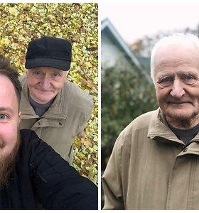 Amžius ne riba: humoristo M.Bartuševičiaus senelis influenceriu tapo sulaukęs 92-ejų