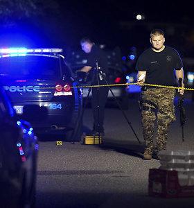 Per įkaitų drama Pietų Karolinoje pašauti septyni policininkai, vienas mirė