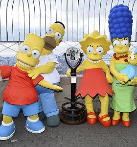 Simpsonai jau seniai numatė, kokį kvailiausią žmogų amerikiečiai galėtų išrinkti savo prezidentu