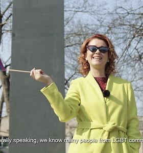 """Erica Jennings kviečia į """"Baltic pride"""""""