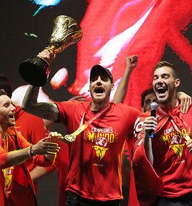 Madride – audringas pasaulio čempionų sutikimas