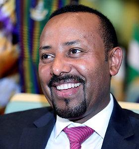 Nobelio taikos premija skirta Etiopijos premjerui Abiy Ahmedui
