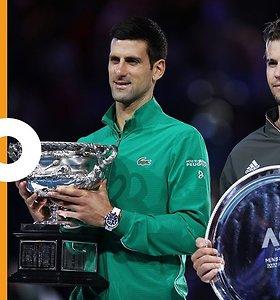 """""""Australian Open"""" vyrų finalo apdovanojimų ceremonija"""