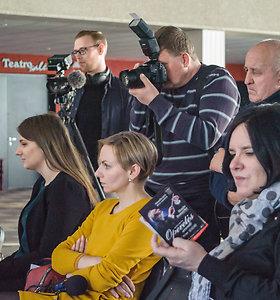 """""""Prūsų"""" spaudos konferencija"""