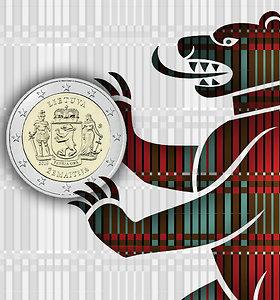 Ant pirmosios monetos Lietuvos regionams – Žemaitijos simbolis meška