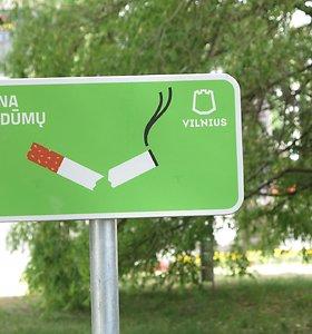 Vilniaus vaikų žaidimų aikštelėse nebeliks rūkalių