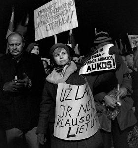 Michailo Gorbačiovo vizitas Vilniuje 1990-ųjų sausį