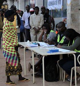 Bisau Gvinėjoje vyksta antrasis prezidento rinkimų turas
