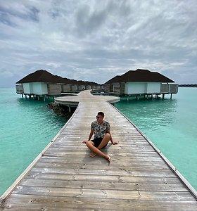 Rimvydo Širvinsko-Makaliaus karantinas Maldyvuose