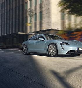 """Pristatytas """"Porsche Taycan 4S"""""""