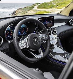 """""""Mercedes-Benz GLC"""" SUV bei """"Coupé"""" atkeliavo į Lietuvą"""