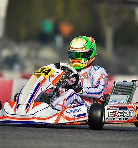 Lietuvos lenktynininkų pasirodymas Italijoje