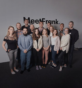 """Slapto įdarbinimo programėlė """"MeetFrank"""""""