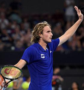 ATP taurė: titaniškų S.Tsitsipo pastangų prieš vokiečius graikams neužteko
