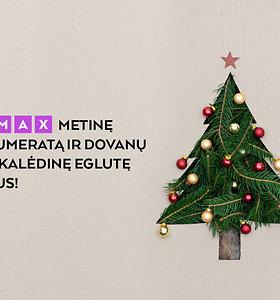 15MAX prenumeratoriams – 15min dovana: prašmatni kalėdinė eglė į namus!