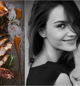 """""""KitchenJulie"""" receptas: kepti medumi glazūruoti kiaulienos šonkauliukai"""