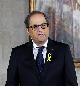 Iš Katalonijos regiono vadovo atimtas parlamentaro mandatas