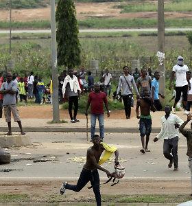 PAR po ksenofobinių atakų uždarė savo diplomatines atstovybes Nigerijoje