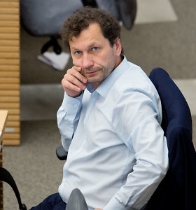 Seimo narys Robertas Šarknickas atsidūrė ligoninėje