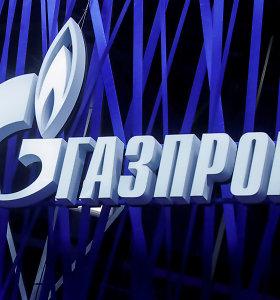 """Europos teismai atšaukia """"Gazprom"""" turto areštus"""