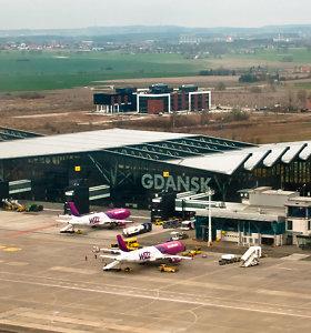 Gdanske avariniu būdu tūpė į Kopenhagą skridęs lėktuvas