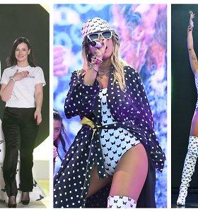 Popžvaigždė Rita Ora pasipuošė Agnės Kuzmickaitės kūriniais: dizainerei – gausios ovacijos