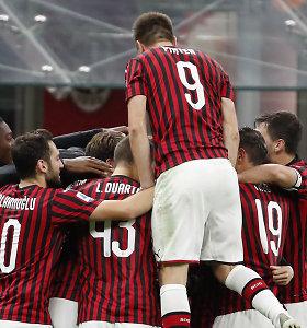 """Pagaliau: """"Milan"""" naujasis treneris iškovojo pirmąją pergalę"""