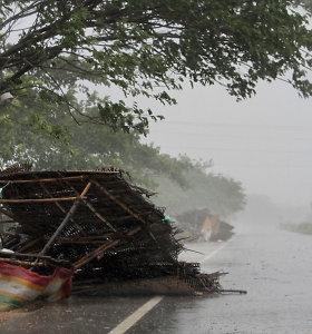Rytų Indiją pasiekė ciklonas Fani